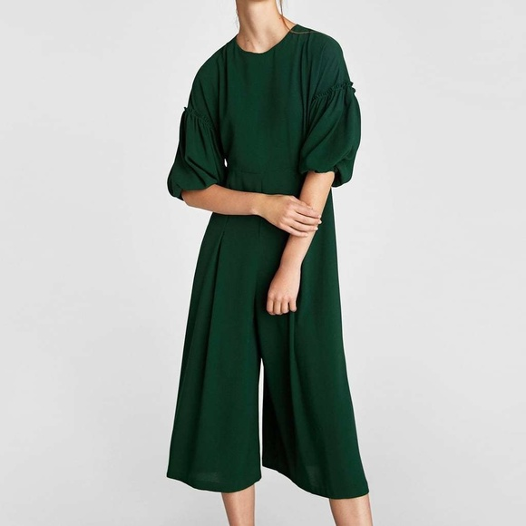 64df60c1522 Green Zara Jumpsuit